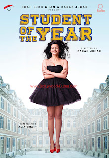 First Look Posters - Student Of The Year - Introducing Alia Bhatt