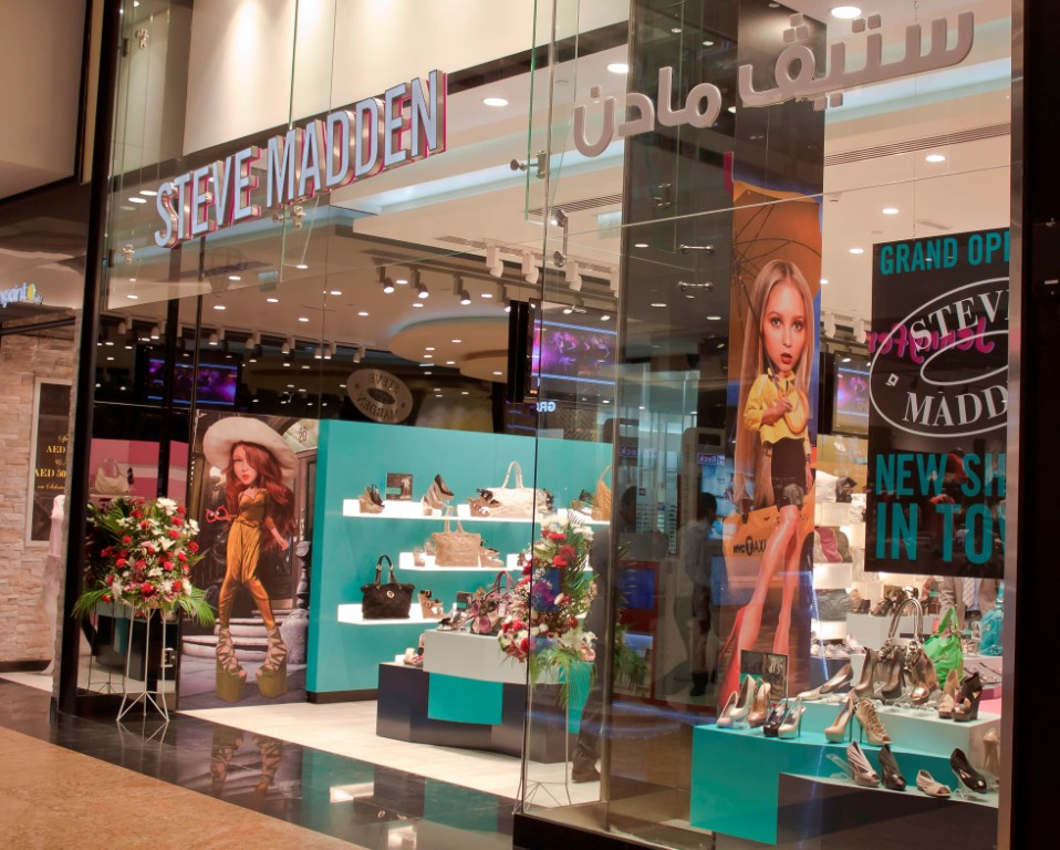 Steve Madden Opens in Mall of the Emirates