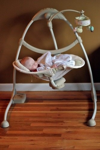 Ingenuity Cradle And Sway Swing Bella Vista Foryoubaby848