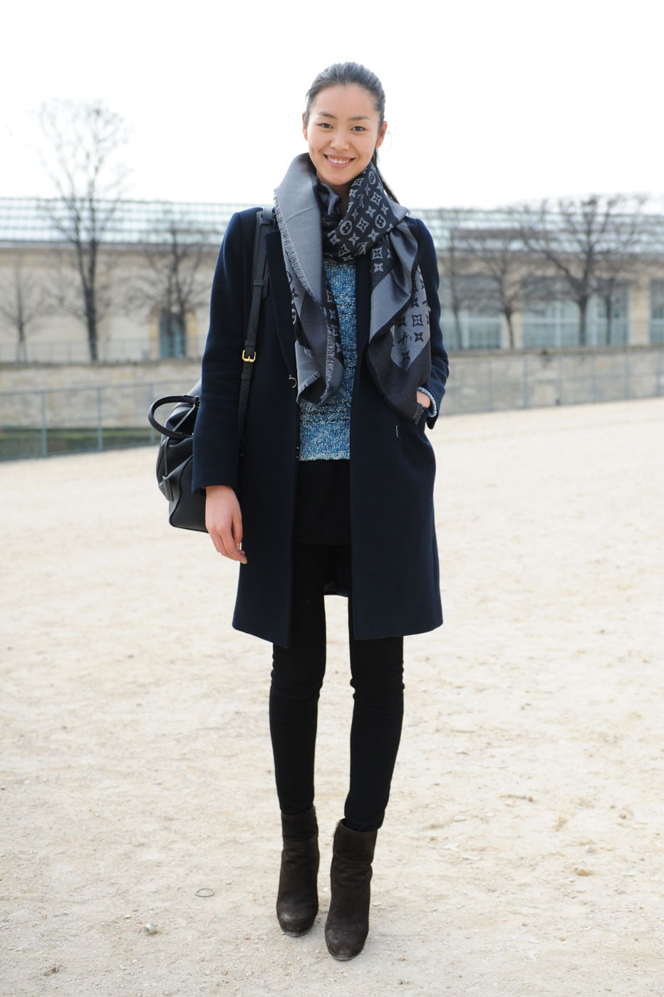 Fashion Week Street Style Liu Wen The Front Row View