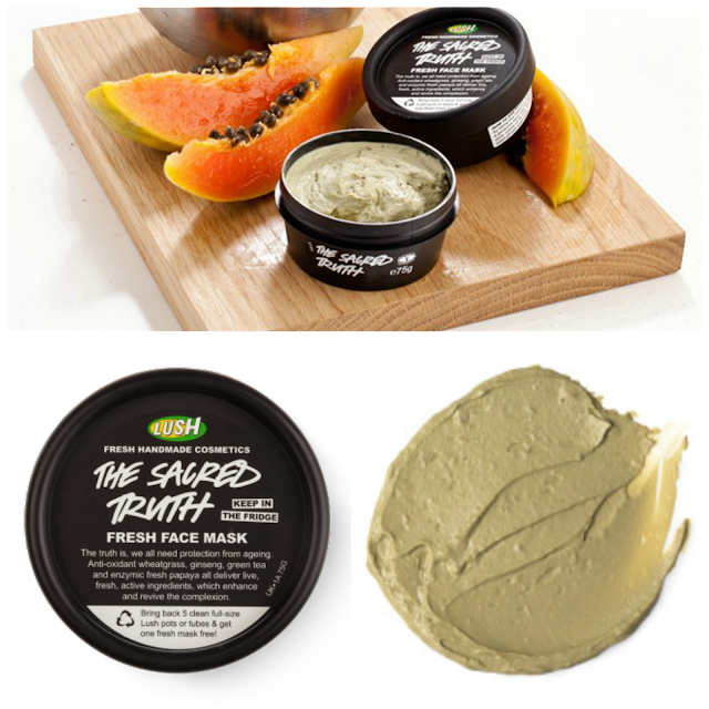 lush, the sacred truth,face mask,fresh,laurajanestyle