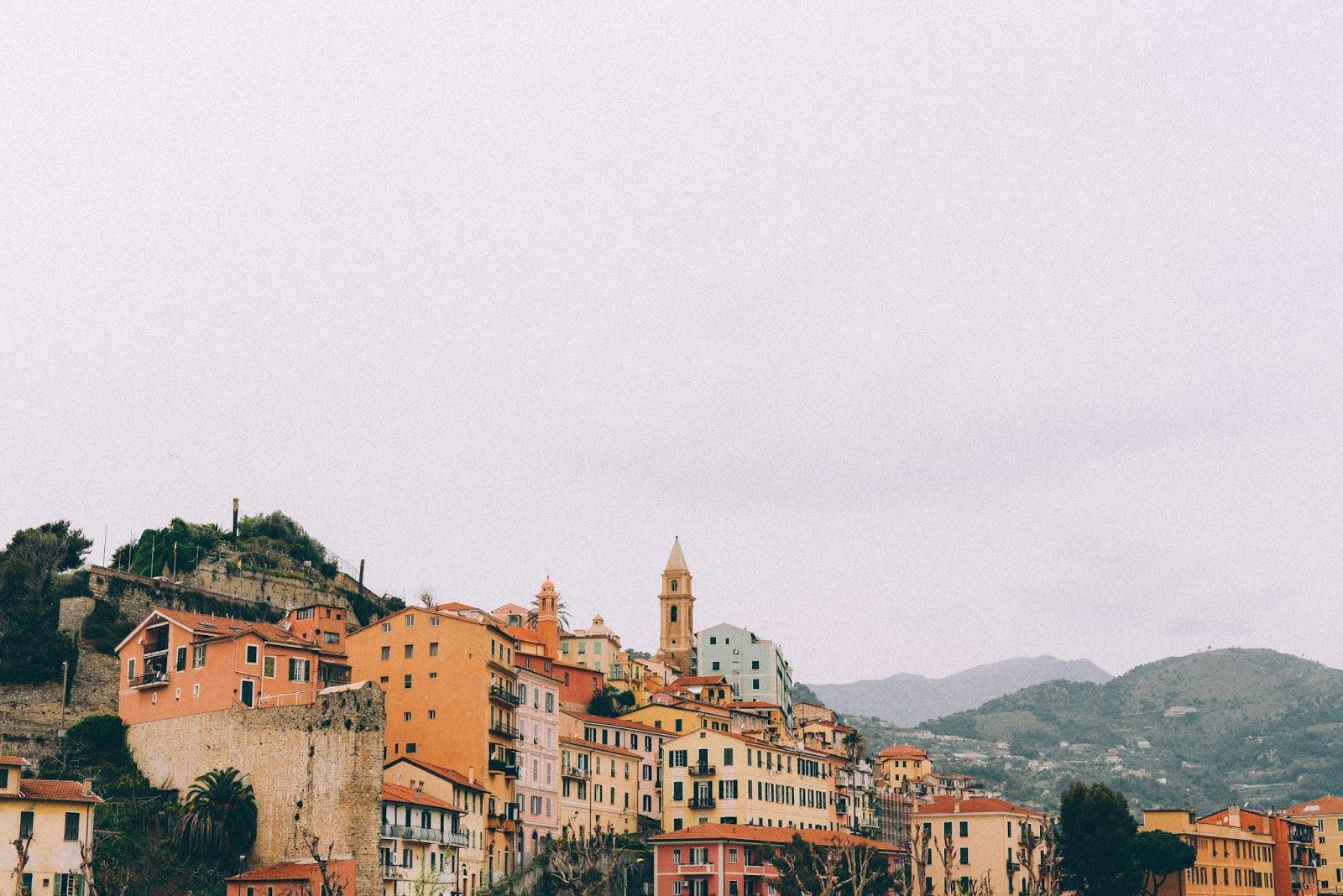 Vue de Ventimiglia