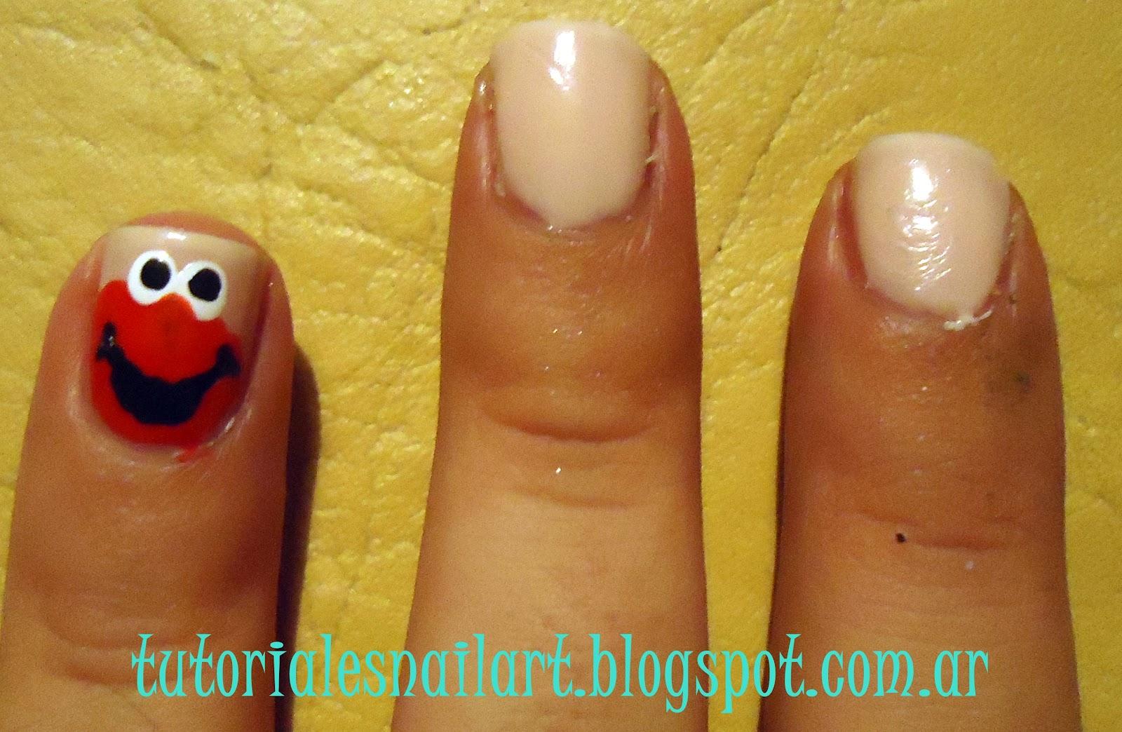 Tutoriales Nail Art: Semana Muppet, hoy: Uñas Elmo