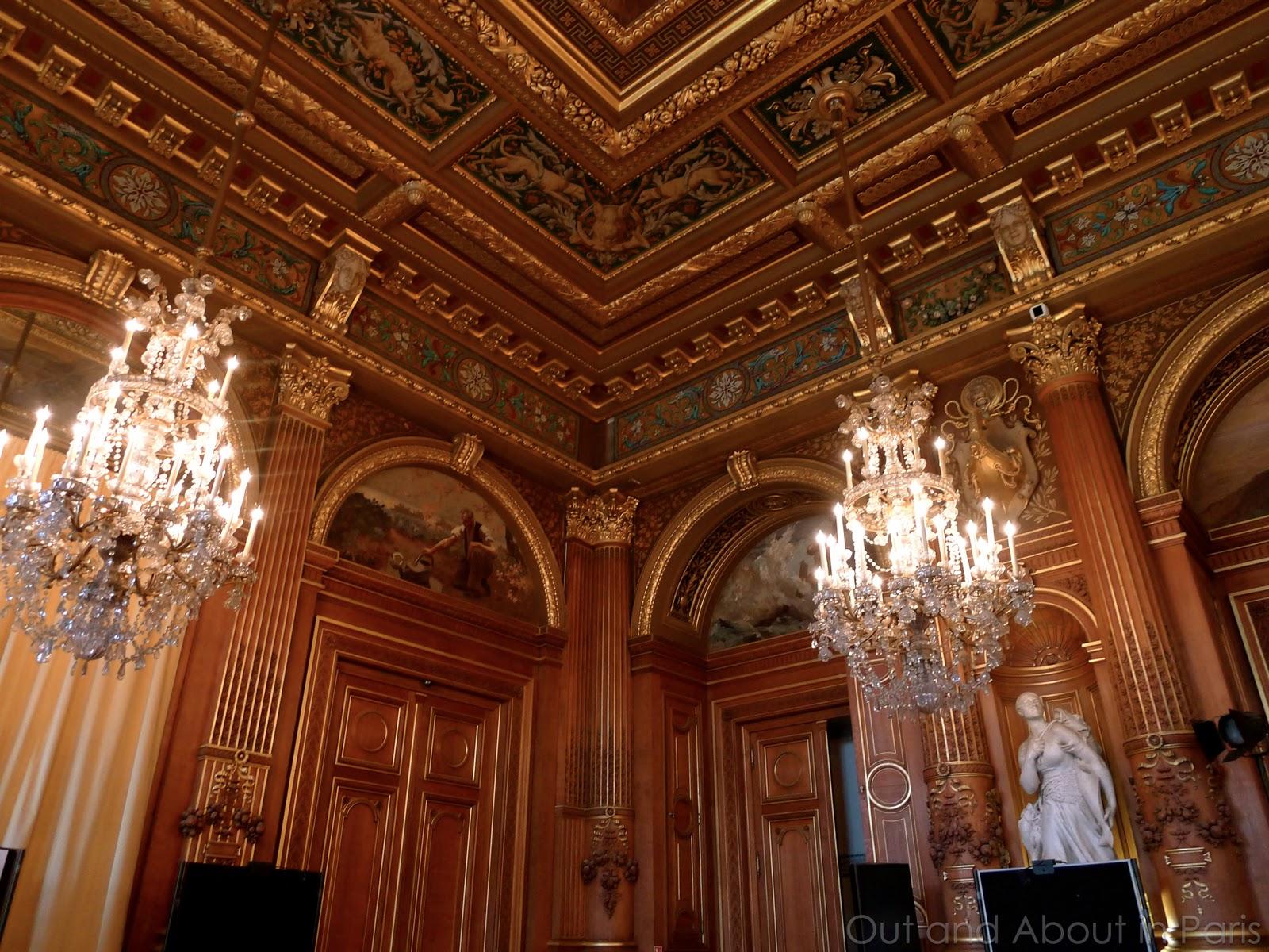 H tel de ville in paris you 39 ve seen the outside now it 39 s - Salons de the a paris ...