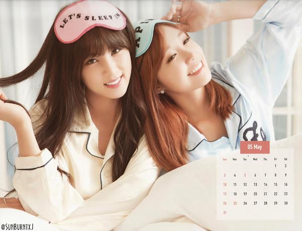 Apink 2015 calendar