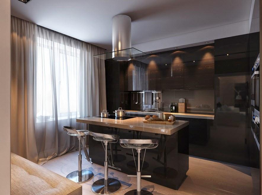 Design kitchen tile countertop and black granite clear