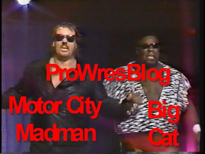 """Motor City Mad Man and Big Cat vs Allen Iron Eagle and Greg Sawyer. """""""