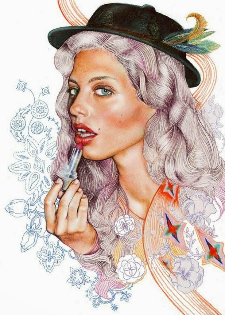 rostros-de-mujeres-dibujados-con-tintas-de-color