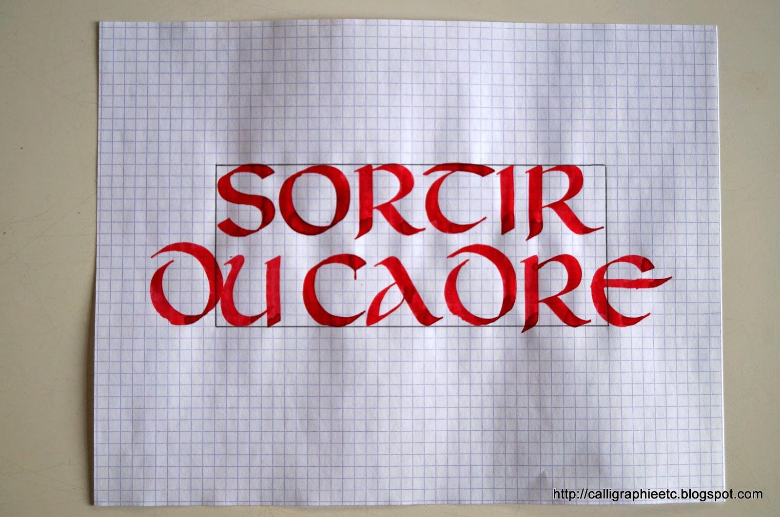 Tatouage Lettre S Calligraphie - Calligraphie tatouage Excessial Calligraphie Paris
