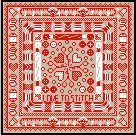 SAL 2013 Delft Red LOVE TO STITCH