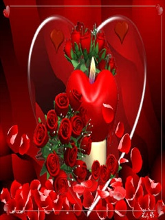 Red Rose Heart Mobile Wallpapers