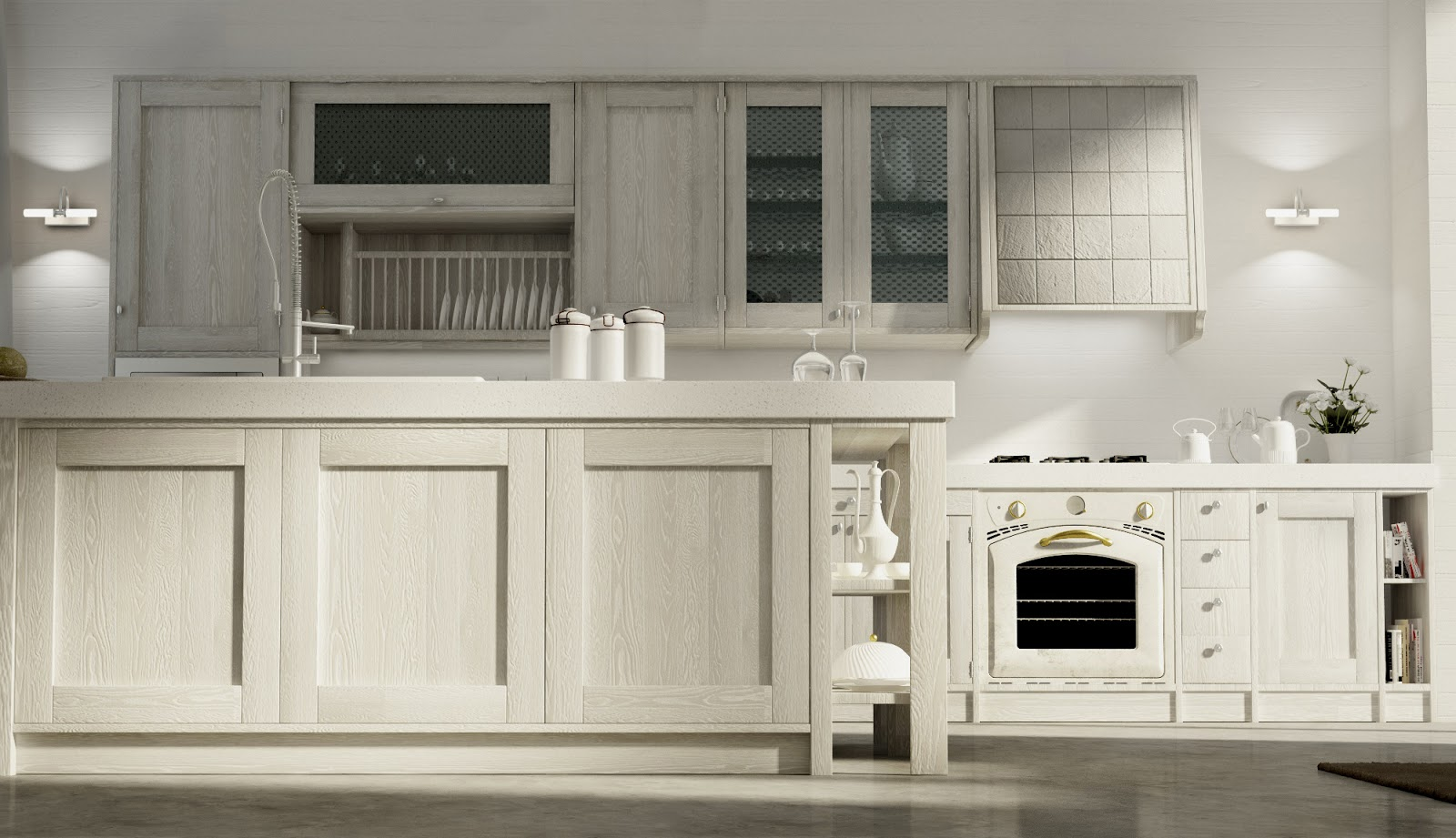 Cucina country chic - Cucina country chic ...
