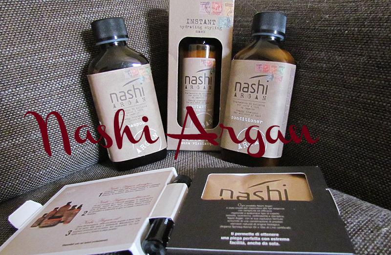 Nashi Argan, Prodotti Nashi Argan, Shampoo Nashi, Balsamo Nashi, prodotti per capelli argan, Instant Nashi