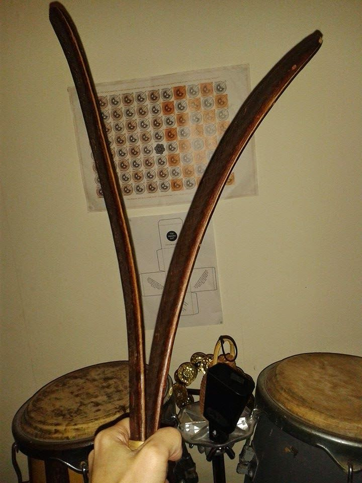 Cowbell, congas and shakers