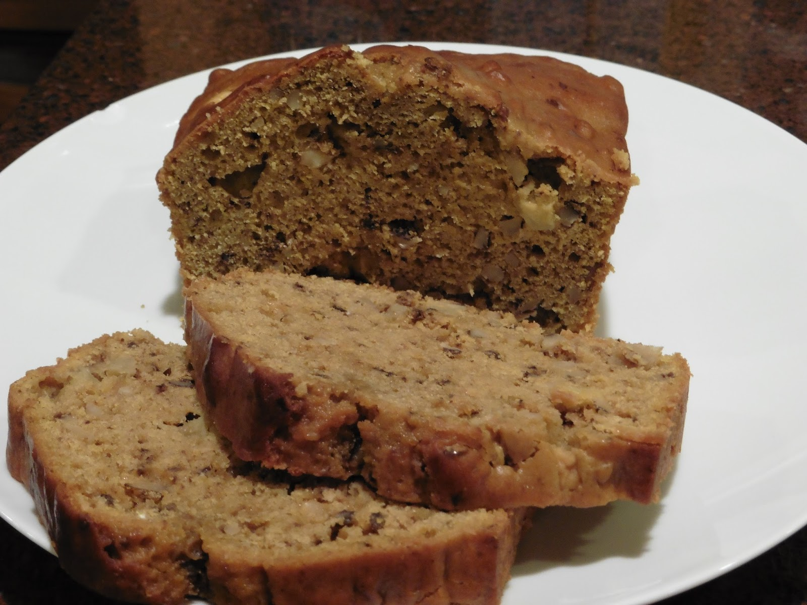 World on a Platter - Has Moved!: Pumpkin Apple Breakfast Bread