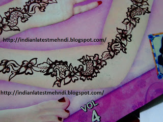 flower mehndi designs 2013 for arms 1