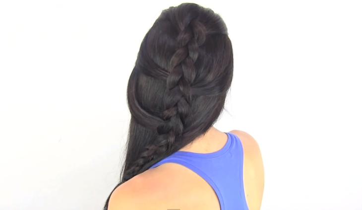 Tendencias de peinados fáciles rápidos y elegantes mas  - Imagenes De Peinado Faciles