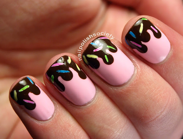nail polish society strawberry