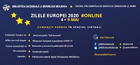 Zilele Europei 2020 online #Moldova  #BNRM #CPESC