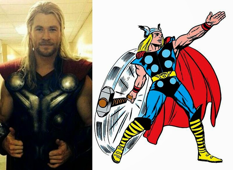 sc 1 st  The Avengers Fans & The Avengers Fans™: AGE OF ULTRON: Thoru0027s New Costume Revealed.