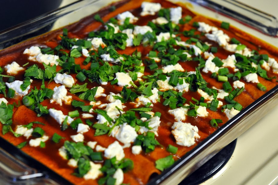 Weeknight Cheese Enchiladas | Taste As You Go