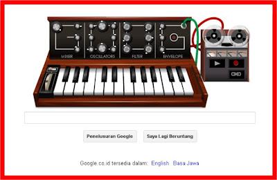 Bob Moog Pelopor Musik Elektronik Di Logo Google