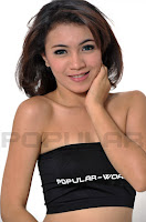 hot Meily Yanti Chianago Model BFN Popular World, Mei 2012