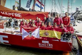 VELA - El 'Mapfre' logró el cuarto puesto en la general final de la Volvo Ocean Race