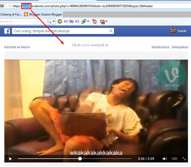 Cara Download Video dari Facebook Tanpa Software