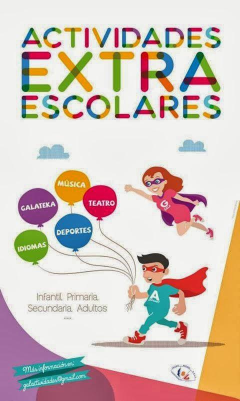 GALACTIVIDADES. Facebook de las actividades extraescolares del Colegio