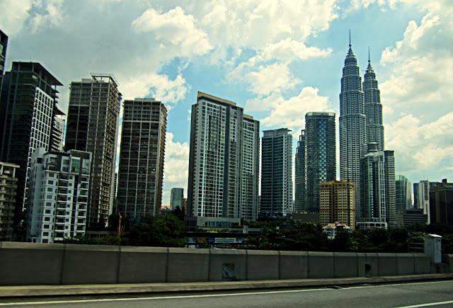 skyscrapers of Kuala Lumpur Malaysia