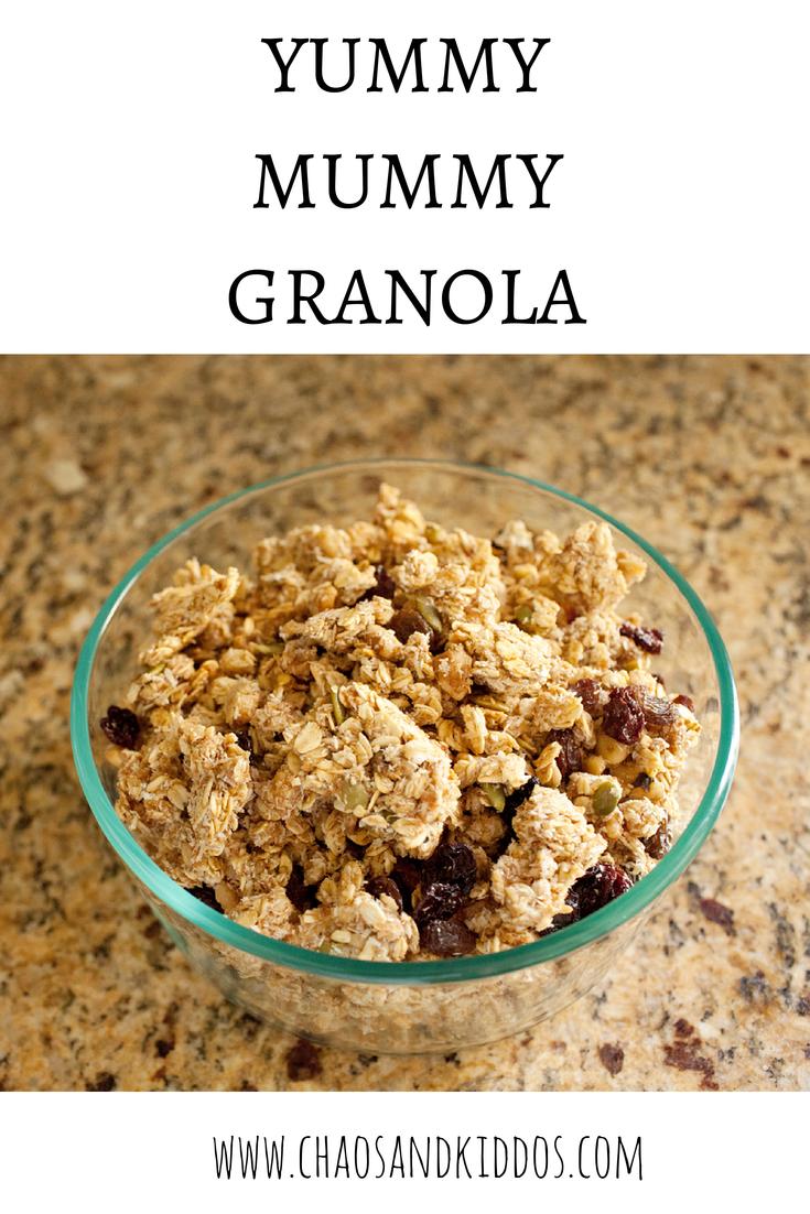 Yummy Mummy Granola: Somer Cooks