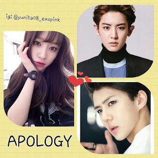 apology ff nc exo chanyeol sehun
