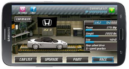download game drag racing club wars (beta) mod apk