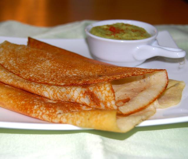 Quinoa Crepe or Dosa