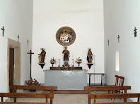 Interior de Sant Esteve de Valldoriola
