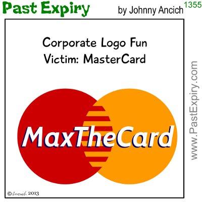 Cartoon about debt, logo, spoof, money,