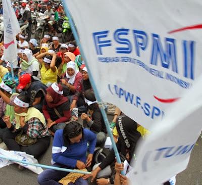 Serikat Pekerja Metal Indonesia Ancam Lumpuhkan Perekonomian Batam