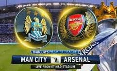 HT: Manchester City vs Arsenal 0-1