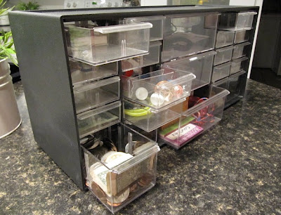 hardware storage drawers