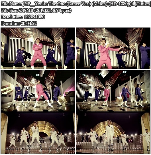 Download MV JYP - You're The One (Dance Ver.) (Melon Full HD 1080p)