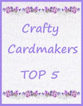Top 5 at Crafty Cardmakers