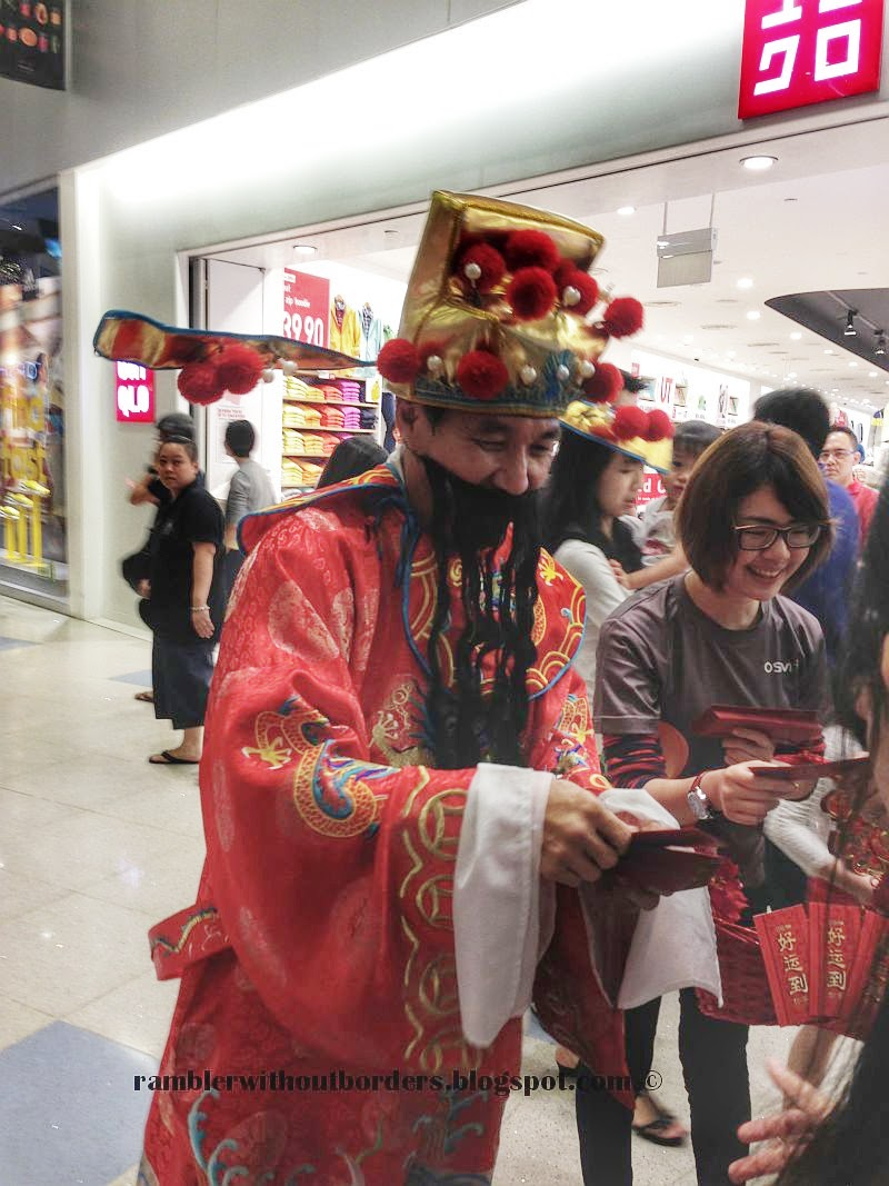God of Fortune, God of Wealth, Chinese New Year, Singapore