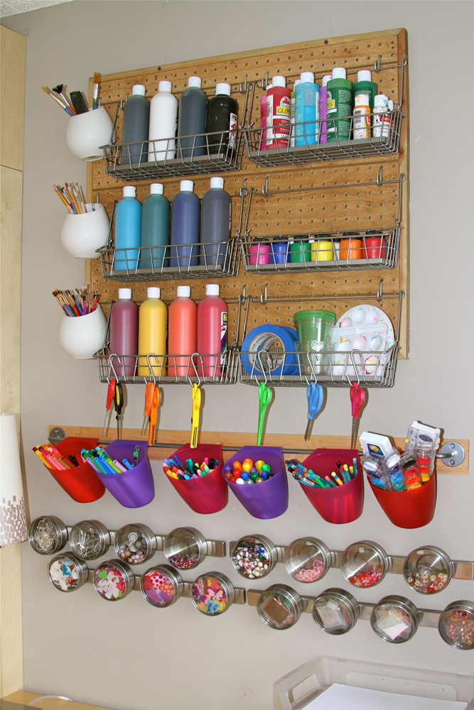 Kids Arts and Crafts Storage Ideas 667 x 1000