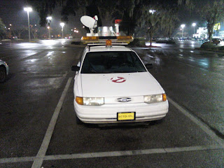 Another shot of the Ghostbuster Car