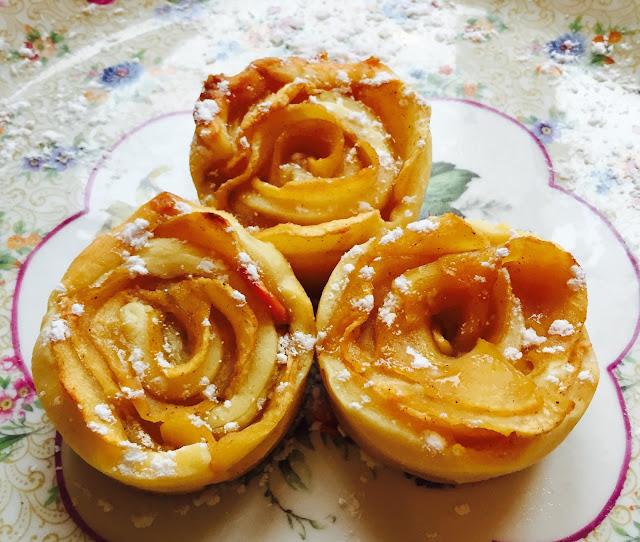 tarte pomme rose