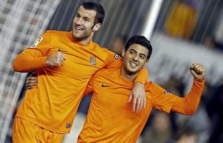 Celebración gol Real Sociedad