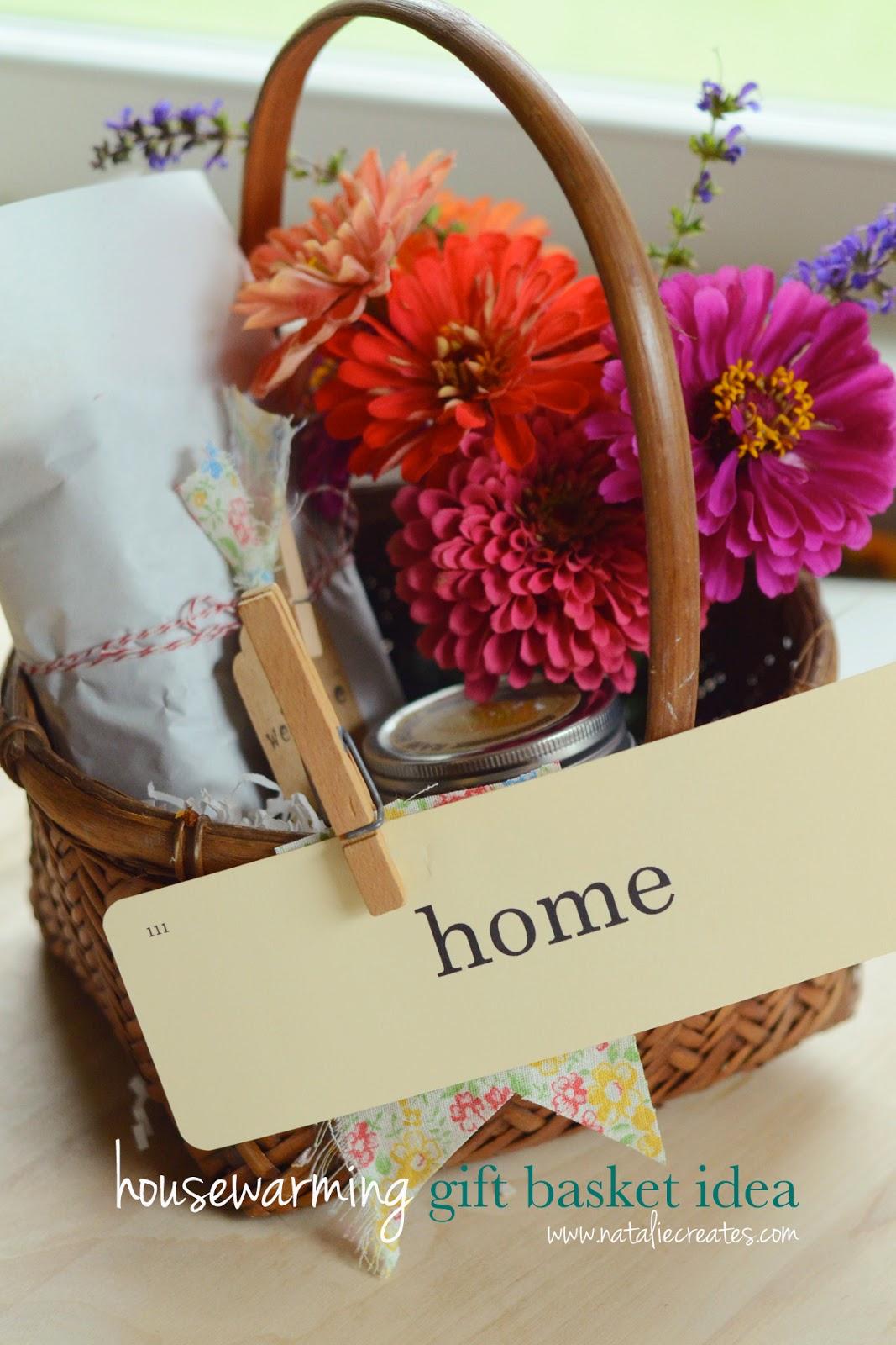 natalie creates: housewarming gift basket idea for under $10
