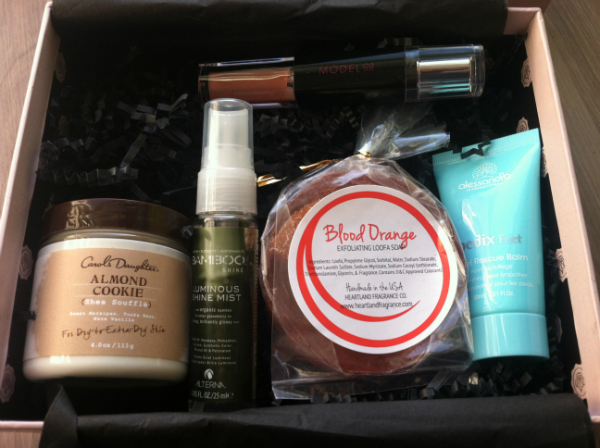 Glossy Box - October 2012 Review - Monthly Subscription Boxes for Women - Beauty and Makeup