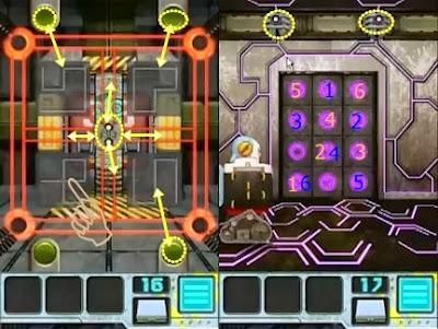 Doors Aliens Space Level 16 17 18 19 20 Solve